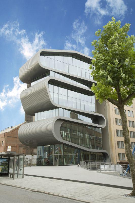 Biurowiec koncernu Umicore w Antwerpii